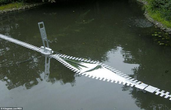 'May' dây khóa cho cả căn nhà, hồ nước