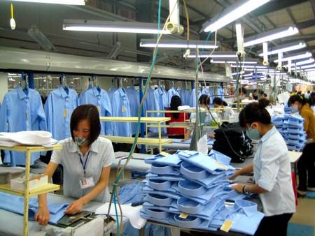 Nhập khẩu hàng may mặc của Mỹ tiếp tục tăng
